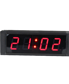 Large LED GPS clock