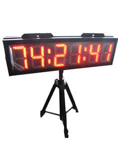 Large led countdown clocks and other digital clocks - Giant stopwatch wall clock ...